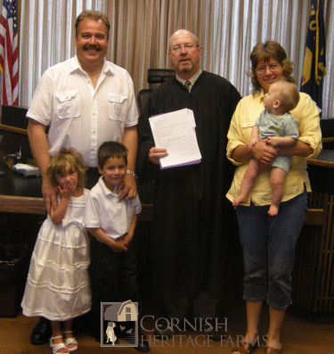 Caleb's Adoption Finalization today :)