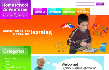 Our New Homeschooling Website is Live :)