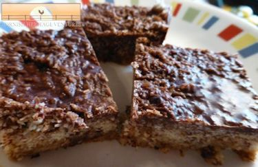 No-Bake Almond Coconut Macaroon Bars