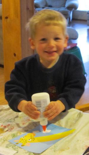 Caleb starts school :)