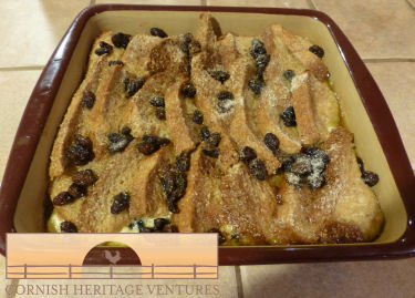 Richard's Bread and Butter Pudding